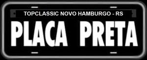 Placa Preta Novo Hamburgo - RS